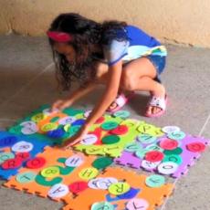 Crianças da Lagoa do Carneiro participam de atividade lúdica em Acaraú no Projeto ELO de Saberes