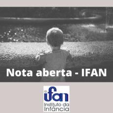 Várias organizações apoiam a Nota aberta do Instituto da Infância - IFAN sobre a morte de uma criança de quatro anos na Praia do Futuro em Fortaleza.