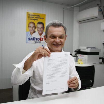 Candidato José Sarto assume compromisso com a Primeira Infância de Fortaleza