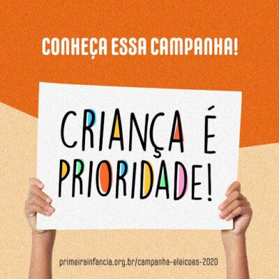 Instituto da Infância-IFAN realiza nova mobilização para que candidatos a prefeito que terão cargos definidos no segundo turno se comprometam com a primeira infância.