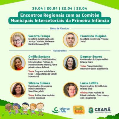 IFAN participa de Seminário Intersetorial do Programa Mais Infância Ceará do Governo Estadual, com oficina sobre o Plano Nacional da Primeira Infância