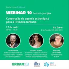 Instituto da Infância realiza webinar sobre estratégias para a primeira infância de  municípios brasileiros