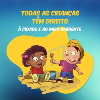 Ação Olhares Eco Protetores lança campanhas pelos direitos das crianças em Fortaleza (CE)