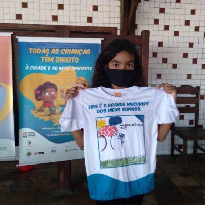 Crianças do Grande Mucuripe participam de oficinas sobre direito à cidade e ao meio ambiente
