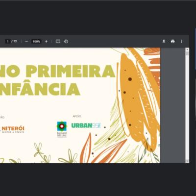Projeto Plano Primeira Infância integra realização de Diagnóstico Municipal da Primeira Infância de Niterói (RJ)